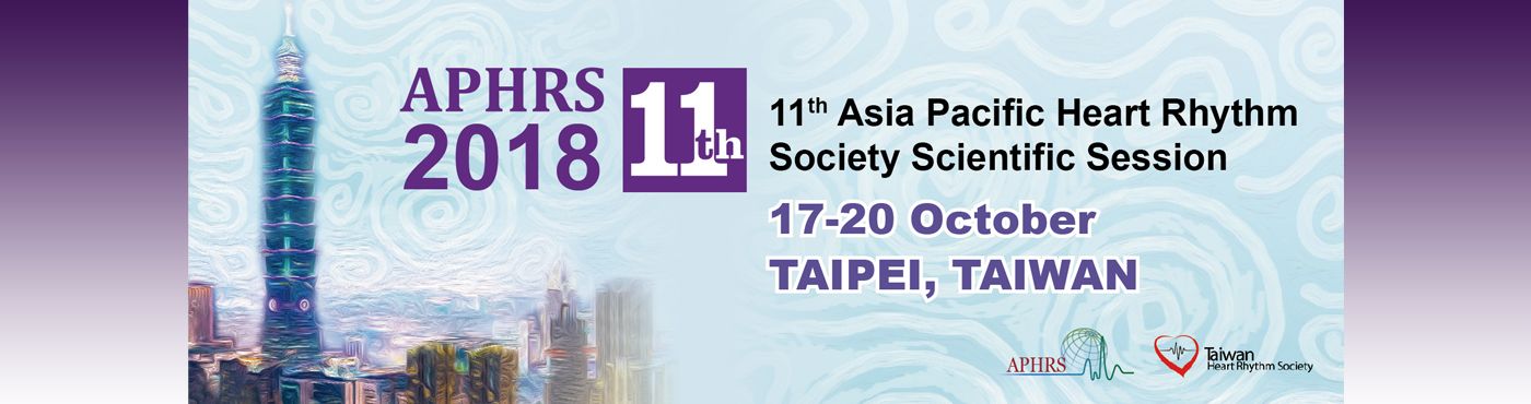 APHRS 2018 Taipei: The 11th APHRS Scientific Session